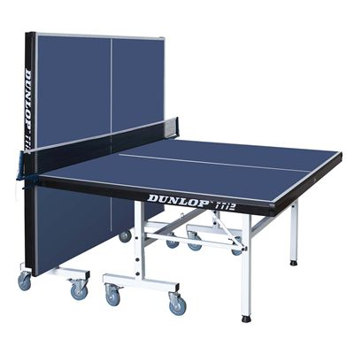 Dunlop TTi2 Indoor Table Tennis Table - Blue/Playback