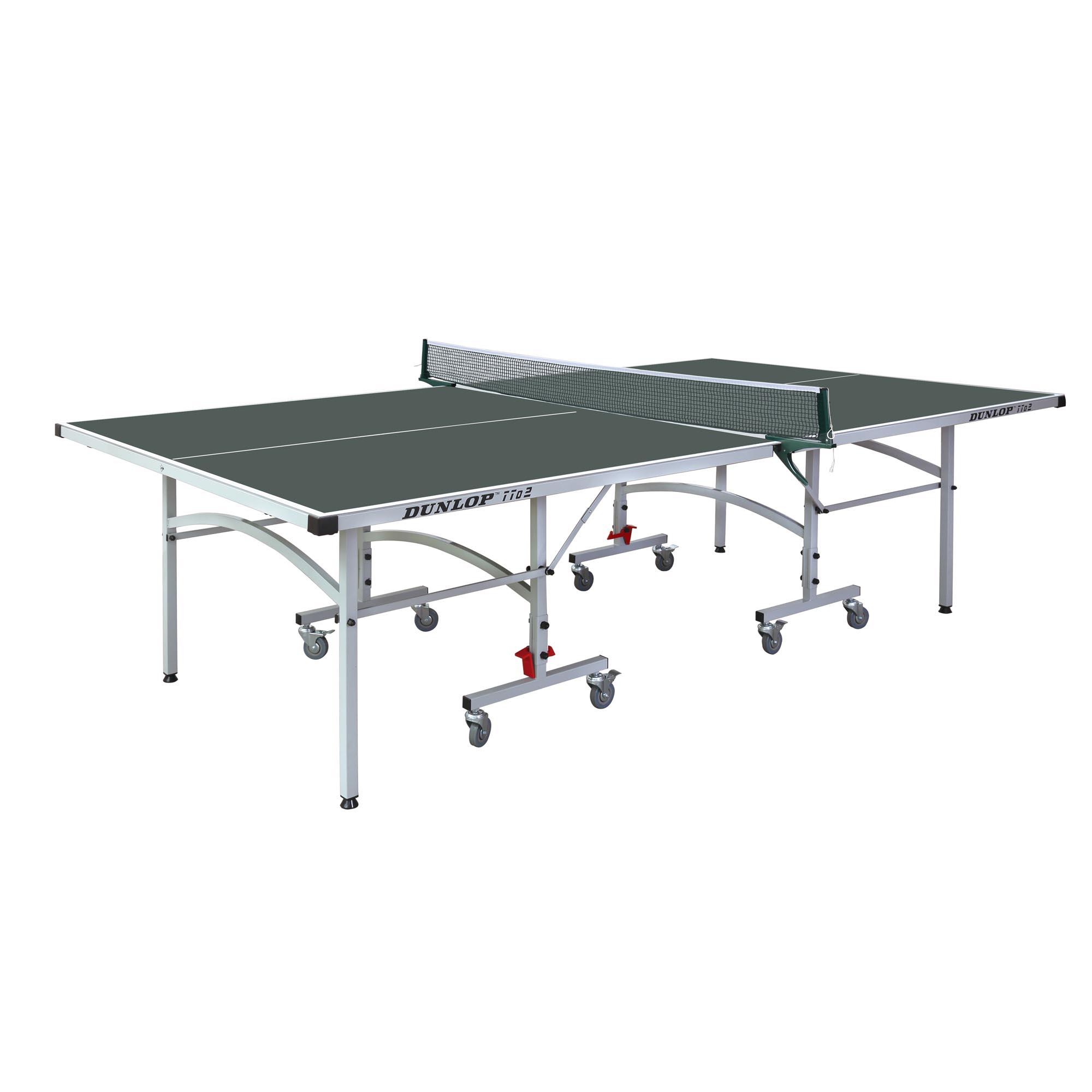 Dunlop TTo2 Outdoor Table Tennis Table  Green