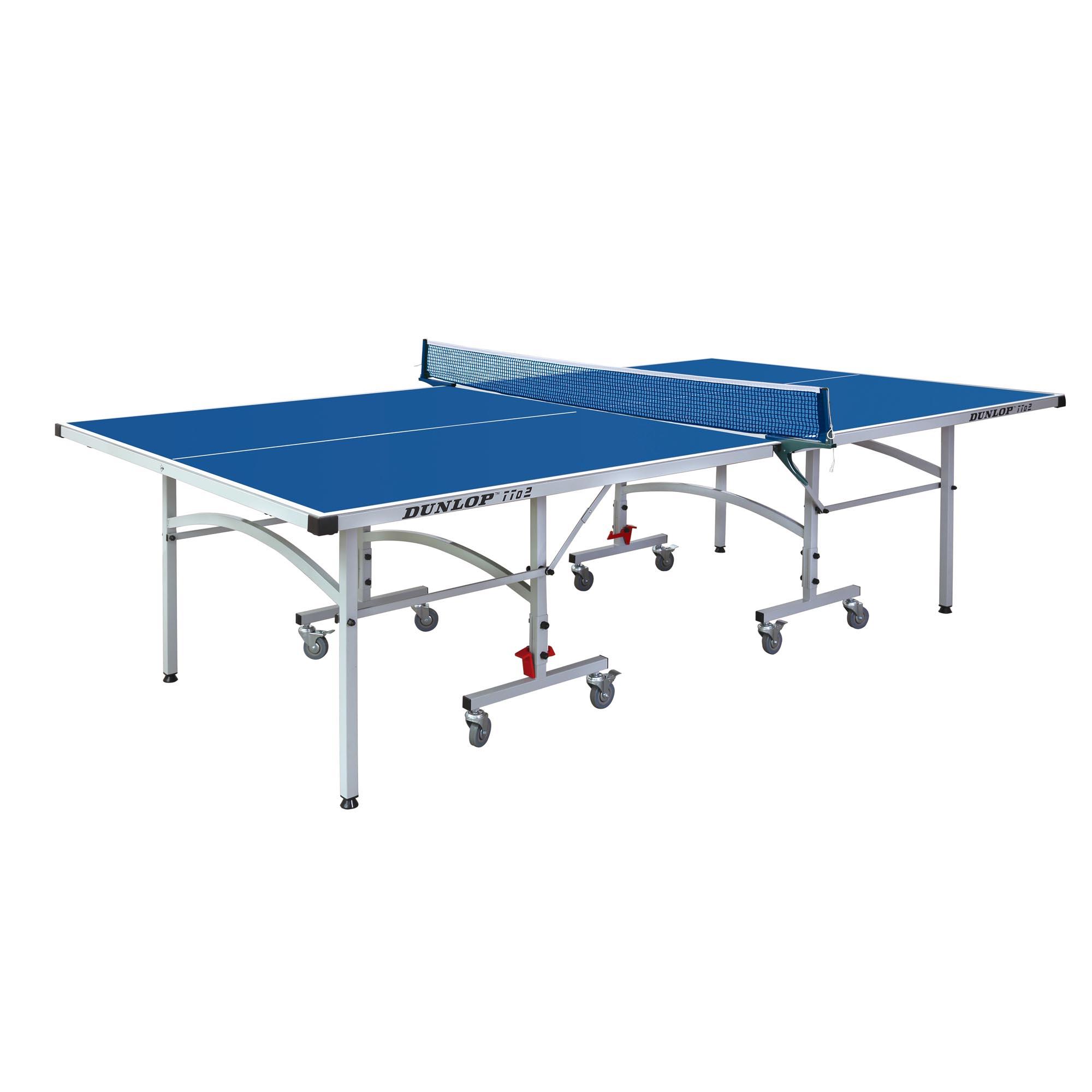 Dunlop TTo2 Outdoor Table Tennis Table  Blue