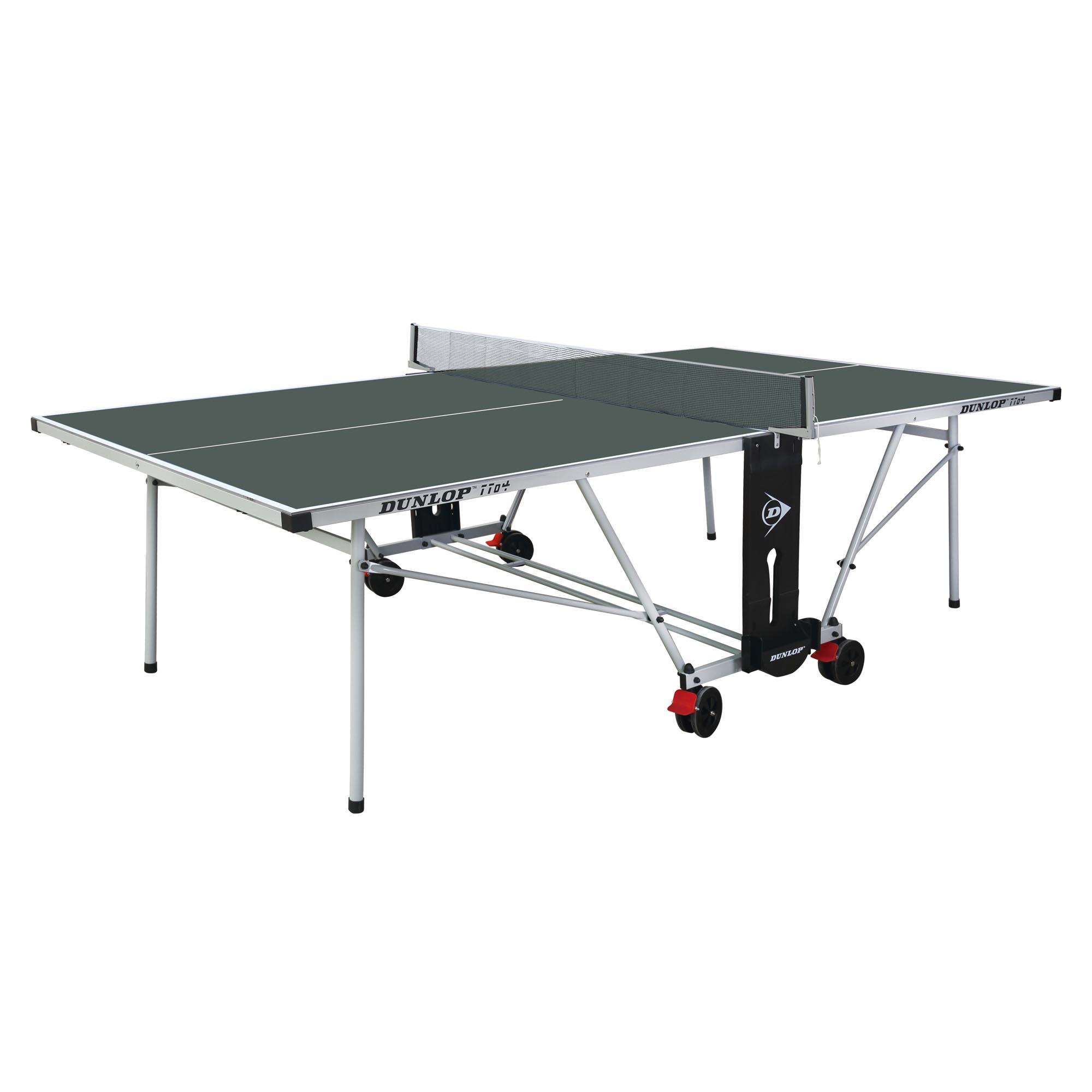 Dunlop TTo4 Outdoor Table Tennis Table  Green