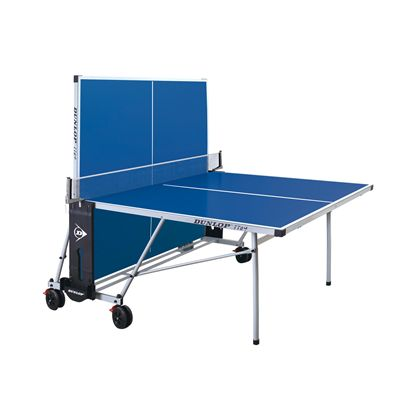Dunlop TTo4 Outdoor Table Tennis Table - Blue/Playback