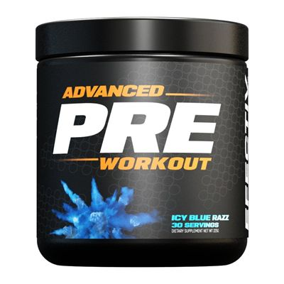 Efectiv Nutrition Advanced Pre-Workout 225g - icy main