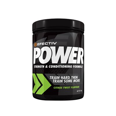 Efectiv Nutrition Power 330g Strength and Conditioning Formula - front