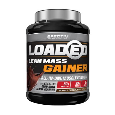 Efectiv Sports Nutrition 3kg Loaded Lean Mass Gainer - chocolate