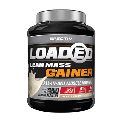 Efectiv Sports Nutrition 3kg Loaded Lean Mass Gainer - vanilla