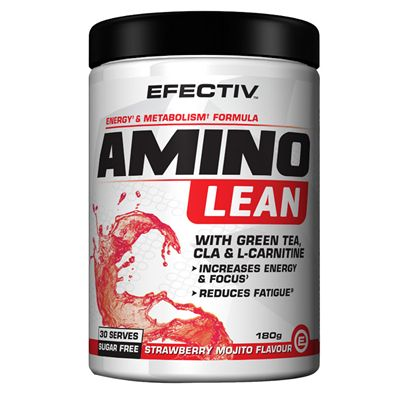 Efectiv Sports Nutrition Amino Lean 180g Shake - Mojito