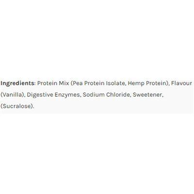 Efectiv Sports Nutrition Vegan Protein 908g - ingredients