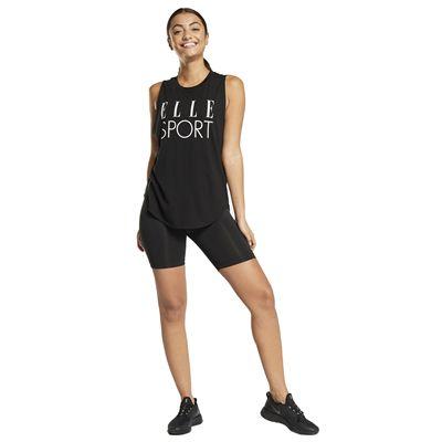 Elle Sport Signature Vest - Black Model3