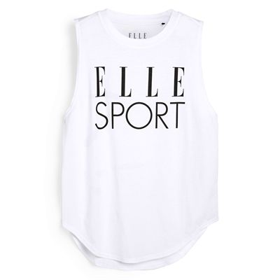 Elle Sport Signature Vest - White
