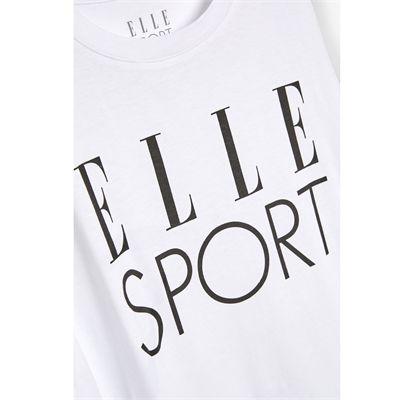 Elle Sport Signature Vest - White Zoomed
