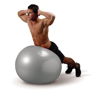 Everlast 65cm Burst Resistant Gym Ball - In Use