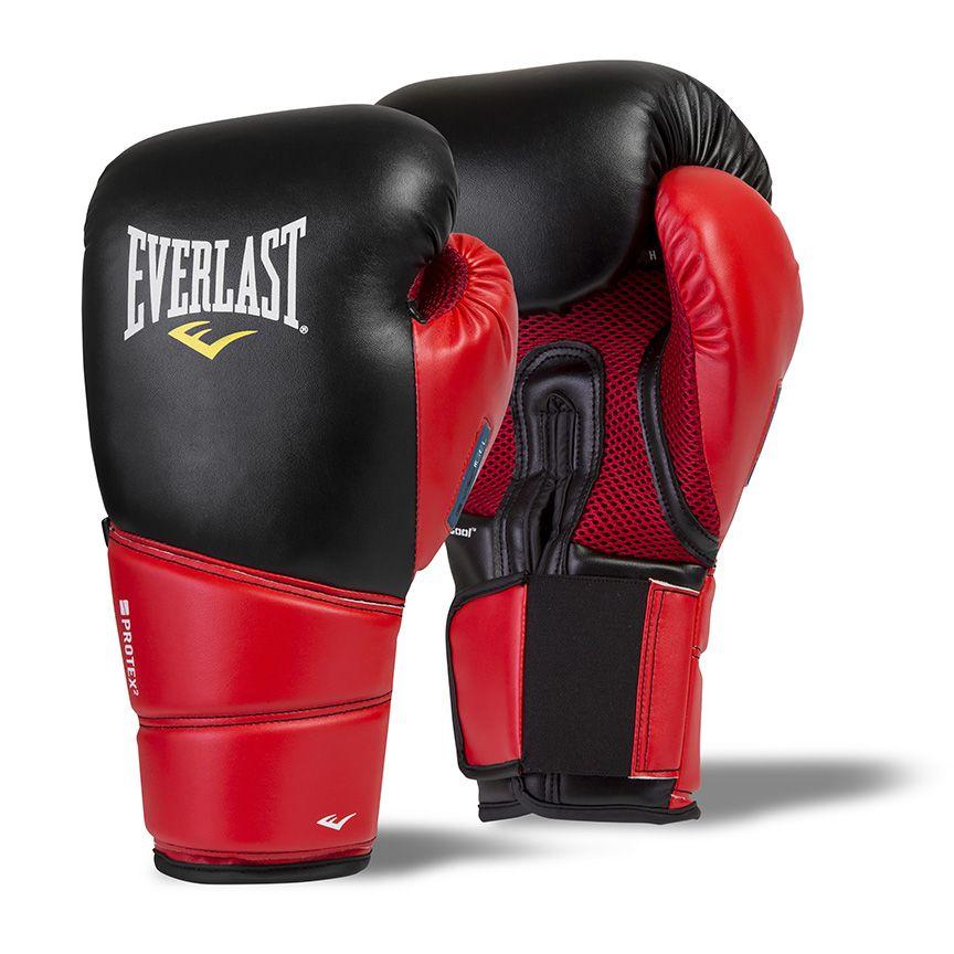 Shiv Naresh Teens Boxing Gloves 12oz: Everlast Protex 2 Evergel Training Gloves