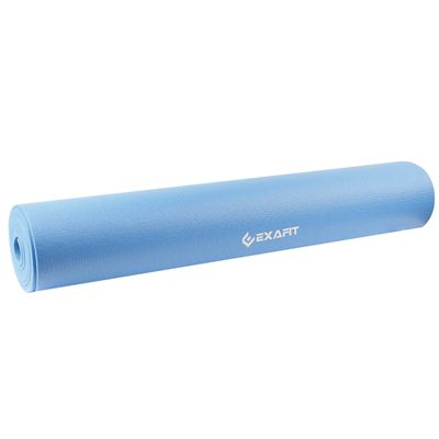 Exafit 4mm Yoga Mat - Blue