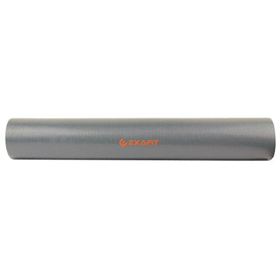 Exafit 4mm Yoga Mat - Grey - Side