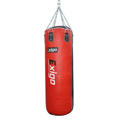 Exigo 4ft Heavy Leather Punch Bag