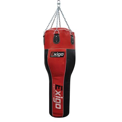 Exigo 4ft Leather Angle Punch Bag