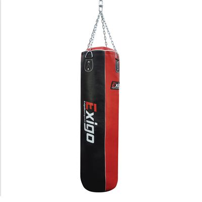Exigo 4ft Leather Straight Punch Bag
