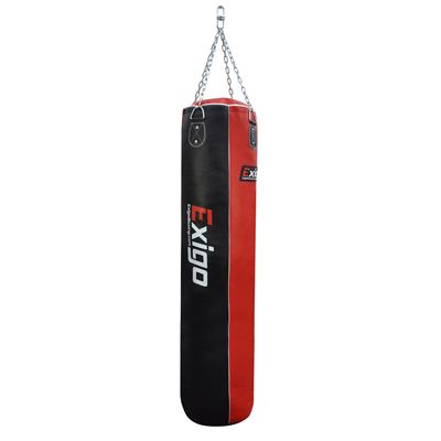 Exigo 5ft Leather Straight Punch Bag