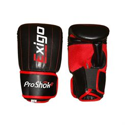 Exigo Boxing Club Leather Bag Mitts