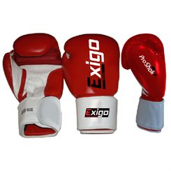 Exigo Boxing Club Pro Leather Sparring Gloves