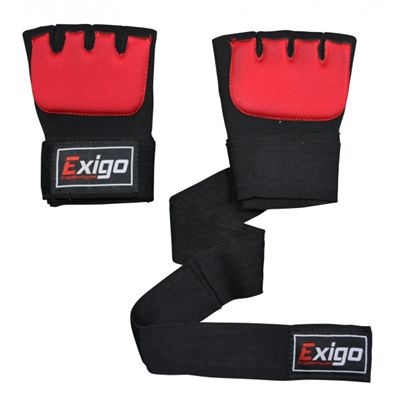 Exigo Boxing Inner Gel Gloves Outspread Top View