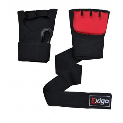 Exigo Boxing Inner Gel Gloves Outspread Underside and Top View