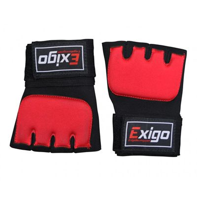 Exigo Boxing Inner Gel Gloves Top View