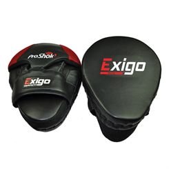Exigo Boxing Pro Curved Hook and Jab Pads