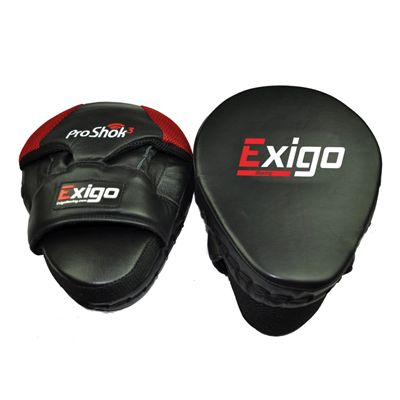 Exigo Boxing Pro Curved Hook and Jab Pads - Main Image