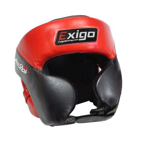Exigo Boxing Pro Head Guard with Cheek