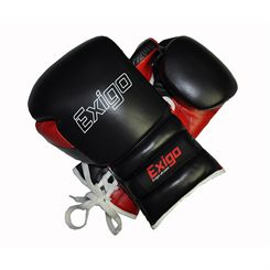 Exigo Boxing Ultimate Pro Leather Sparring Gloves