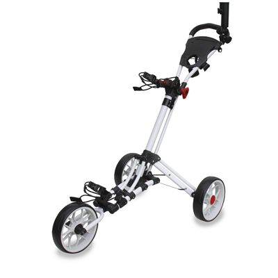 Eze Glide 3G Smart Fold Golf Trolley-White
