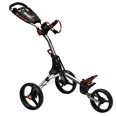 Eze Glide Compact Plus Golf Trolley - Silver