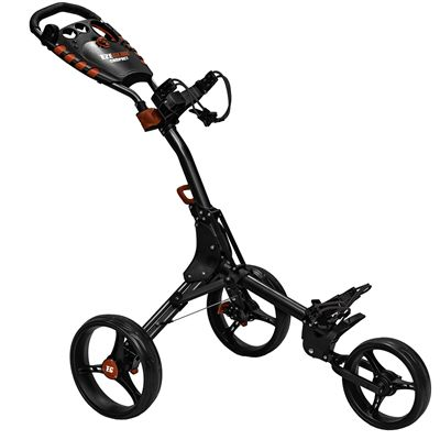 Eze Glide Compact Plus Golf Trolley - Silver FoldedEze Glide Compact Plus Golf Trolley - Black