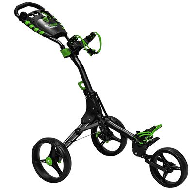 Eze Glide Compact Plus Golf Trolley - Silver FoldedEze Glide Compact Plus Golf Trolley - Charocal