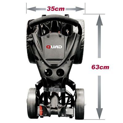 Eze Glide Compact Quad Golf Trolley Dimensions