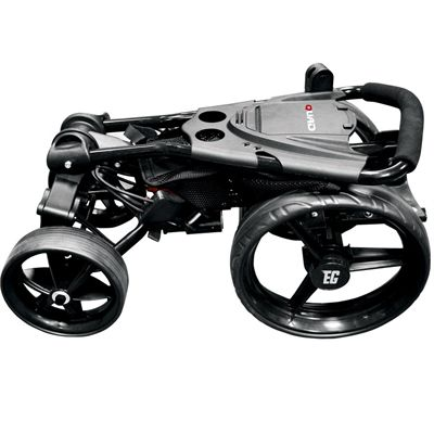 Eze Glide Compact Quad Golf Trolley Folded