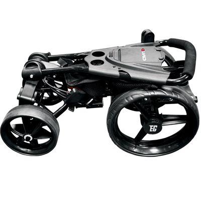 Eze Glide Compact Quad Golf Trolley Folded
