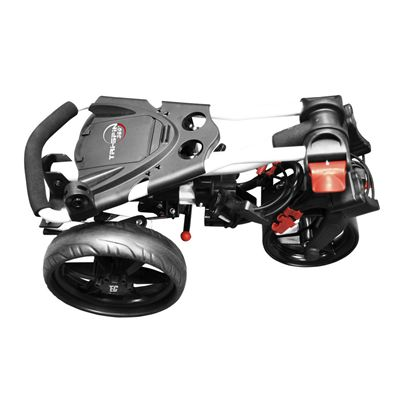 Eze Glide Compact Tri-Spin Golf Trolley Folded
