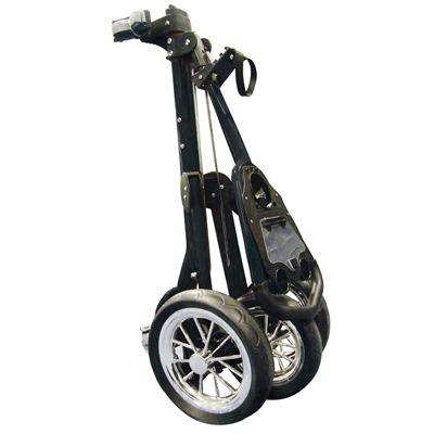 Eze Glide Tour Golf Trolley black folded