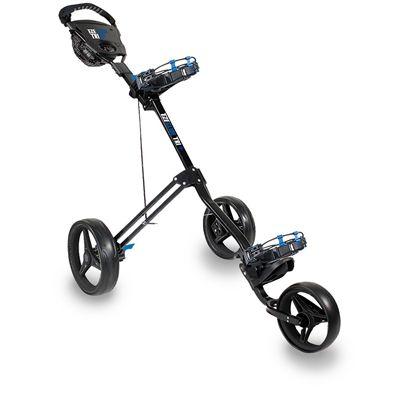 Eze Glide Tri Lite Golf Trolley - Grey/Blue