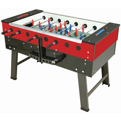 FAS San Siro Football Table Red