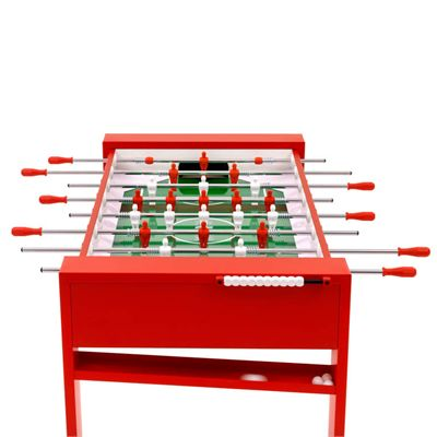 FAS Tour Football Table - Red - Above