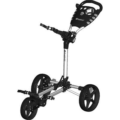 Fast Fold Flat Golf Trolley - Black