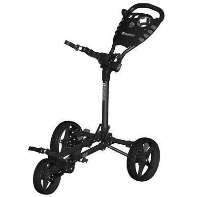 Fast Fold Flat Golf Trolley - Charocal