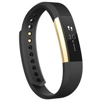 Fitbit Alta Gold-Plated Edition Large Fitness Tracker