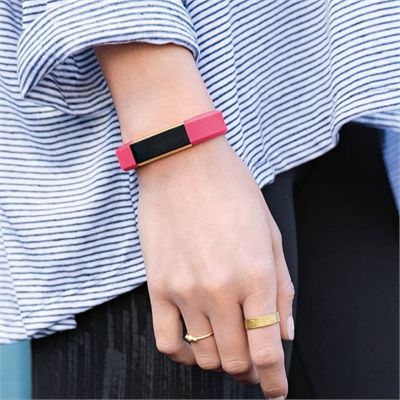 Fitbit Alta Gold-Plated Edition Large Fitness Tracker - Lifestyle