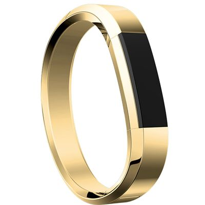 Fitbit Alta HR and Alta Gold-Plated Metal Bracelet