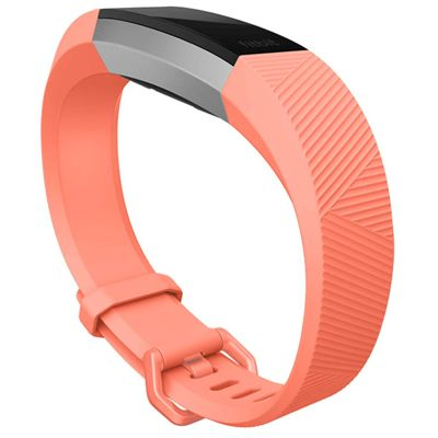 Fitbit Alta HR and Alta Large Classic Accessory Band - Corak - Coral - Side