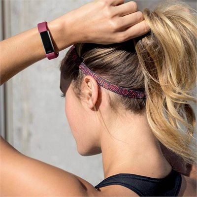 Fitbit Alta HR and Alta Large Classic Accessory Band - Fuchsia - Lifestyle
